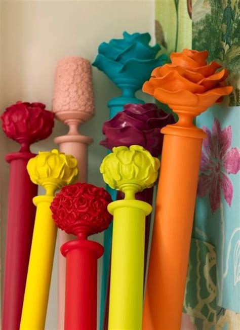 how to spray paint curtain rods spray paint curtain rods for a pop of color yes crafty