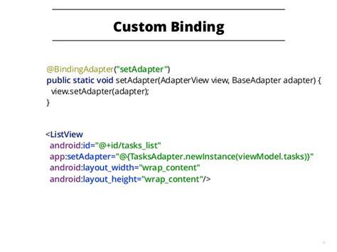 android data binding android data binding