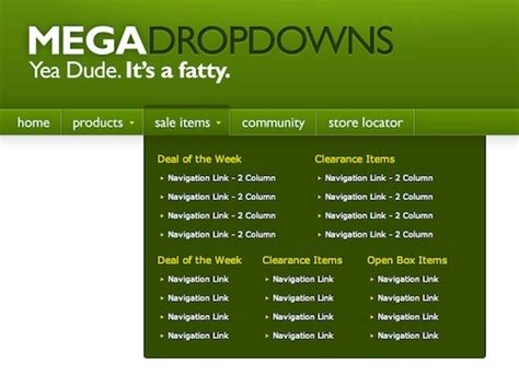 tutorial of css drop down menu 25 beautiful exles of css and jquery drop down menu