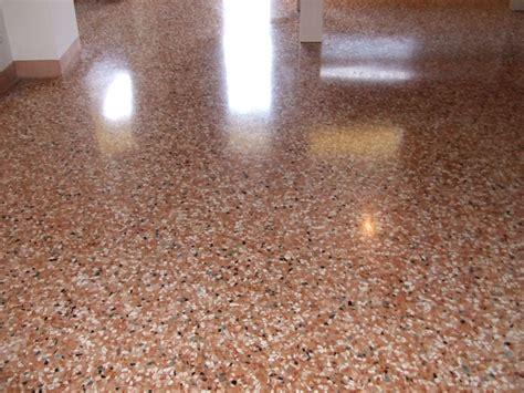 pavimento in graniglia di marmo pavitek sas di arena enzo c sasso lavato