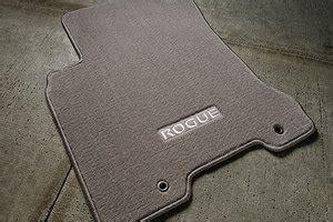 Nissan Rogue Floor Mats by 2008 2012 Nissan Rogue Black Carpeted Floor Mats 999e2 Gu000bk Automotive
