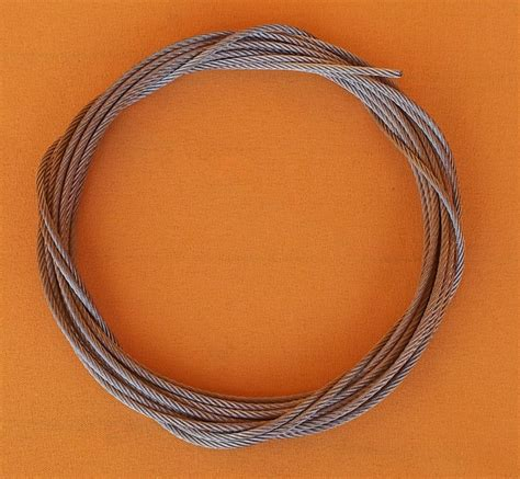 2mm X 10 Meter Kawat Stainless Steel Wire 304 Soft 2 mm stainless steel wire rope 7x19