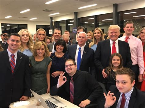 trump family photos donald trump s family tense on election day 2016 people com
