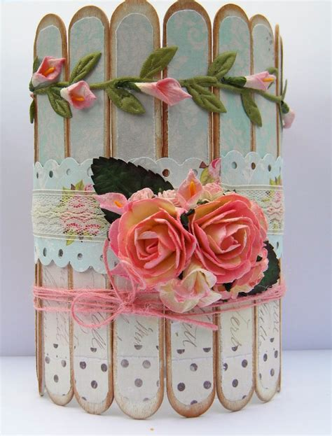 Handmade Things For Home Decoration by Shabby Chic Container For My Paint Brushes The Handmade