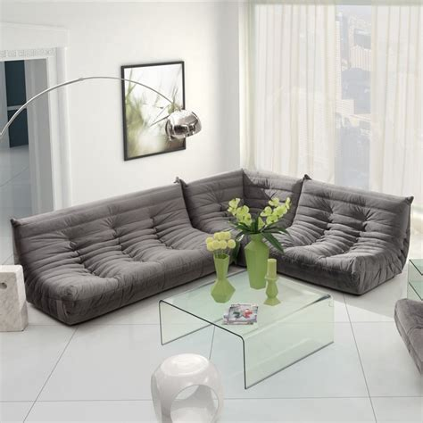 Modern Sectional Couches by Zuo Modern Circus Sectional Sofa Set Modern Sectional
