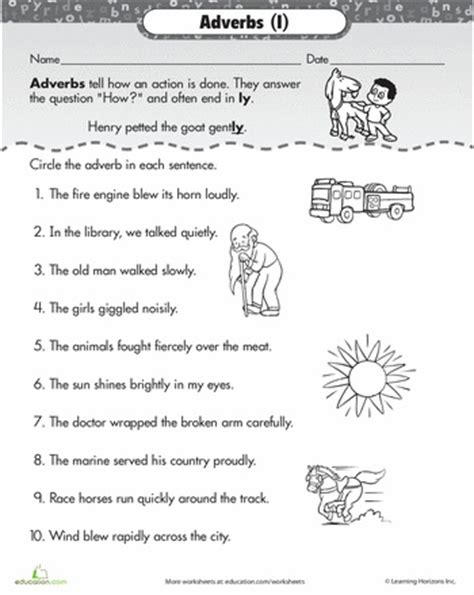Adverbs 2nd Grade Worksheets by The 25 Best Adverbs Worksheet Ideas On