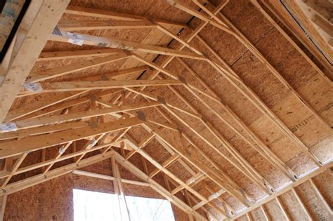 vaulted ceiling trusses vaulted ceiling rafter design home design idea