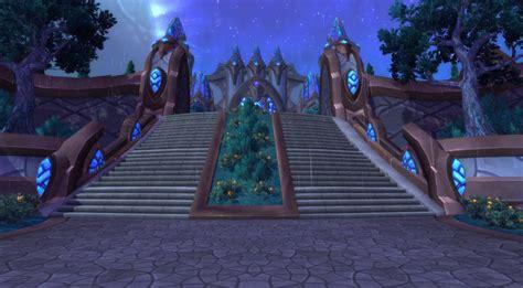 schwarzer tempel eingang wow warlords of draenor schattenmondtal in draenor