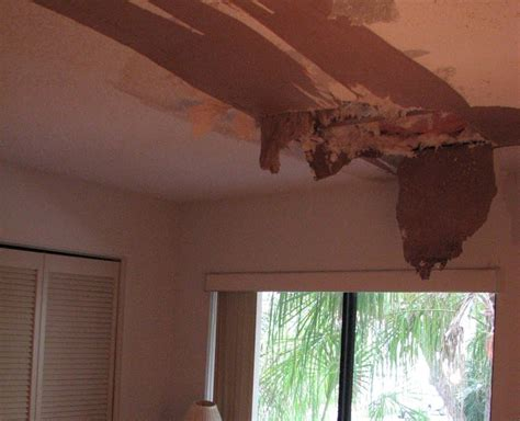 Fix Water Damaged Ceiling by Ceiling Repair Melbourne Fl Drywall Repair Water