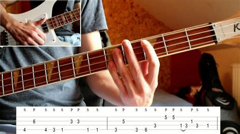 youtube tutorial bass bruno mars treasure bass tutorial with tabs on screen