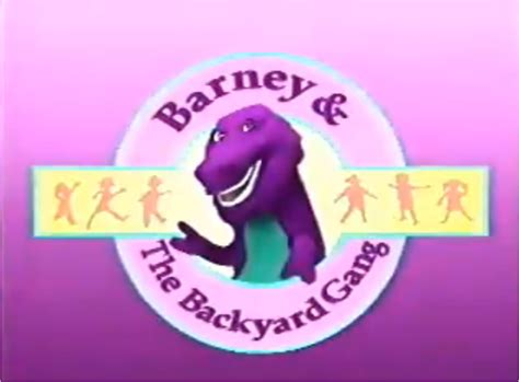 barney and the backyard gang intro barney and the backyard gang was the best show and it is