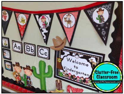 kindergarten themes texas western cowboy country themed classroom ideas photos