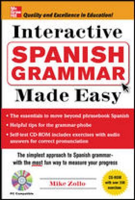 spanish made easy language 1409349381 interactive spanish grammar made easy
