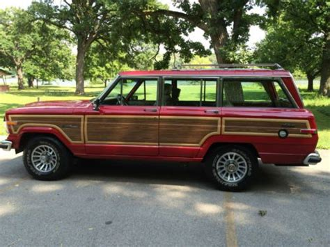 1991 jeep wagoneer interior sell used 1991 jeep grand wagoneer edition amazing