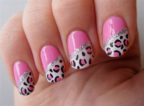 easy nail art black and pink 27 pink and black nail art designs ideas design trends