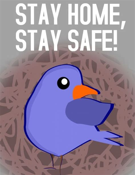 stay home stay safe   campaign posters poster