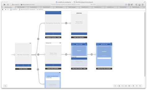 design app storyboard building a native ios photo sharing app on salesforce1