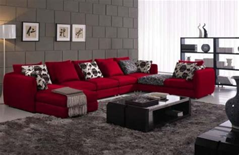 how to decorate with a red couch how to decorate living room with red sofa brew home