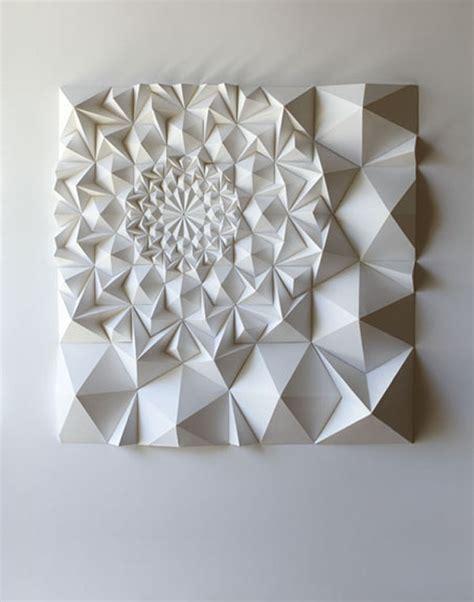 Folded Paper Sculpture - matt shlian s paper engineering for paper print