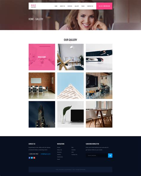 themes exles axle multipurpose business psd template by axlethemes