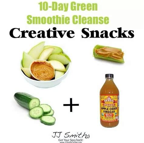 10 Day Green Juice Detox by Creative Snacks Jj Smith 10 Day Green Smoothie