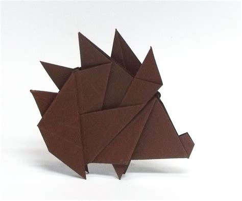Origami Hedgehog - the world s best photos of hedgehog and origami flickr