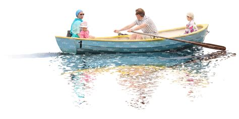 boat cut out cut out family riding in row boat cut out people vishopper