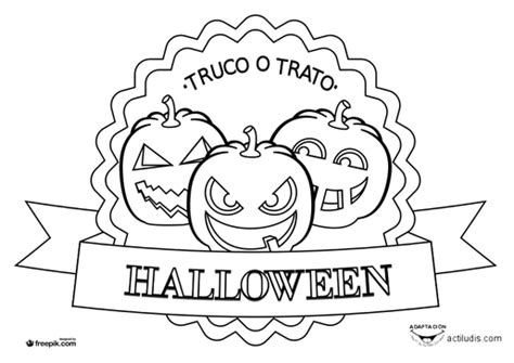 imagenes halloween para uñas dibujos para colorear halloween actiludis