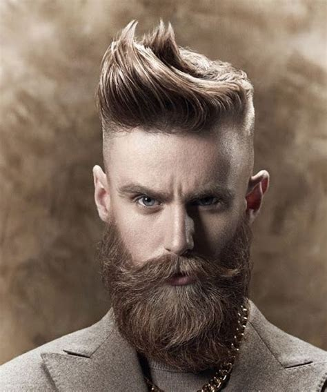Mens Hairstyles With Beard by Stylish S Hairstyle With Beard 2016 Hairzstyle
