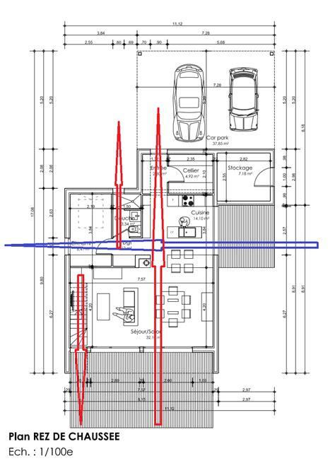 Plan Maison Avec Patio Intérieur by Cuisine Dessiner Des Plans Fonctionnels Conseils