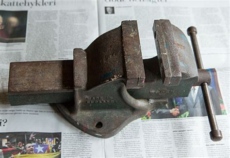 bench vise meaning restoration of an old english bench vise