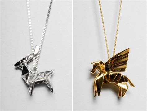 Origami Jewellry - walsh design origami jewellery