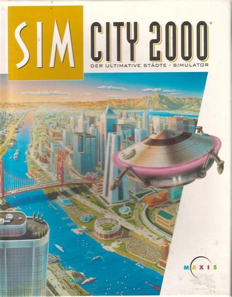 dating sim dos games simcity 2000 1995 windows box cover art mobygames