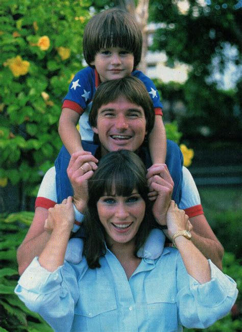 coupure de presse photo clipping jimmy connors sa femme