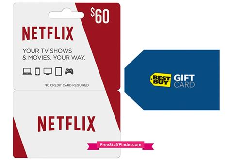 Netflix Gift Card Cvs - free 10 best buy gift card with netflix gift card purchase