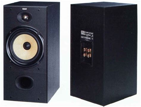 b w dm602 bookshelf speakers review and test