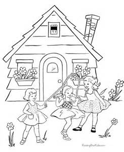 what color is a school school page to color 008