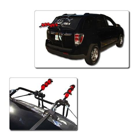 Bike Rack For Hatchback by 3 Trunk Hatchback Bike Rack Holds 3 Bicycles Carrier