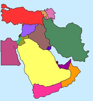 middle east map without names jayzee middle east map