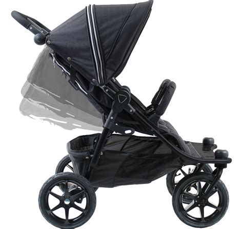 fully recline stroller valco tri mode duo x double stroller night