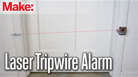 How To Make A Security System For Your Room by Diy Hacks How To S Laser Tripwire