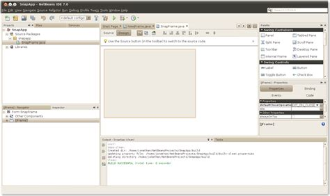 javabeans tutorial creating a project the java tutorials gt javabeans tm