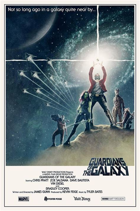 star wars guardians of guardians of the galaxy meets star wars in retro poster plus new tv spot comingsoon net