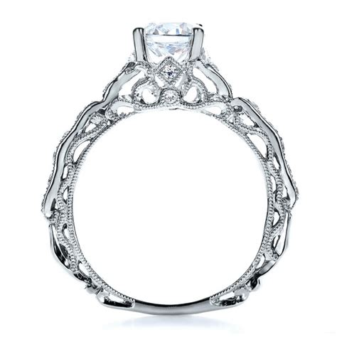 Eheringe Filigran by Filigree Engagement Ring Vanna K 100106
