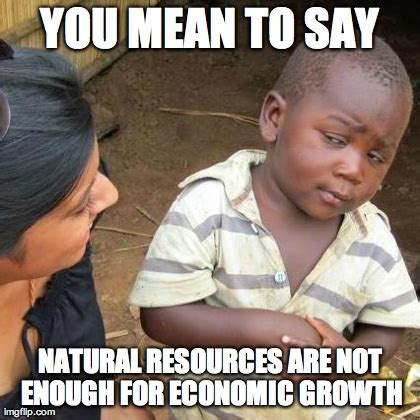 Economic Memes - there will be growth or not economics memes