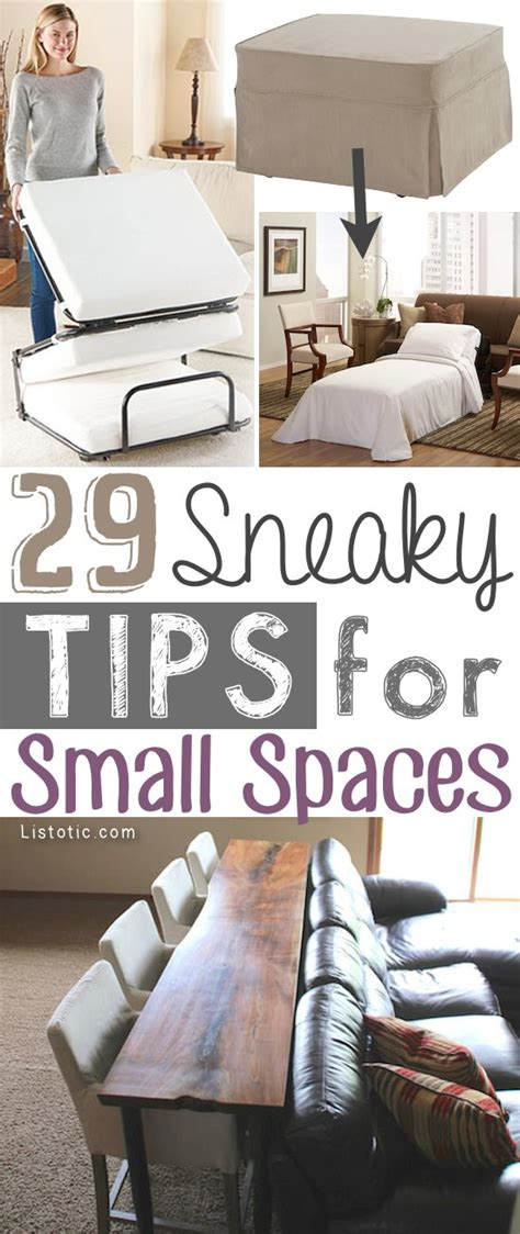 small living space ideas 29 sneaky small space tips for small space living thinkhom