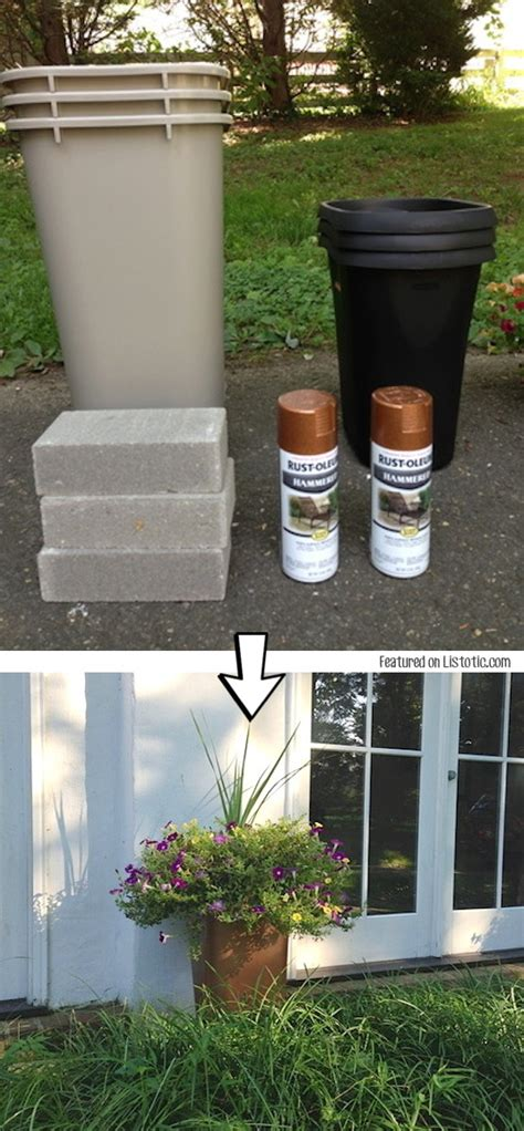 homemade flower pots ideas 29 amazing spray painting ideas to redecorate your home