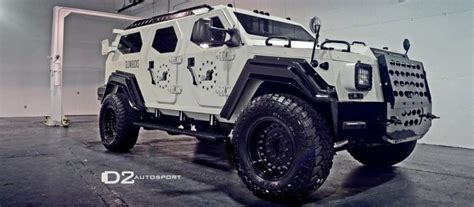 tactical vehicles for civilians gurkha was designed by the canadian company armet armored