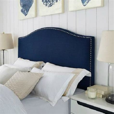 upholstered headboard nailhead trim 26 upholstered headboards to improve your bedroom