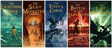 Percy Jackson And The Olympians 5 The Last Olympian Rick Riordan the last olympian audiobook percy jackson book 5